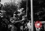 Image of national flag raising ceremony India, 1947, second 6 stock footage video 65675047765