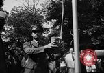Image of national flag raising ceremony India, 1947, second 10 stock footage video 65675047765