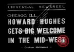Image of aviator Howard Hughes Chicago Illinois USA, 1938, second 2 stock footage video 65675047767