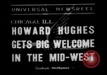 Image of aviator Howard Hughes Chicago Illinois USA, 1938, second 6 stock footage video 65675047767