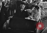 Image of Wedding ceremony on roller coaster Palisades Park New Jersey USA, 1938, second 11 stock footage video 65675047769
