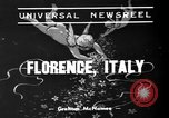 Image of marriage ceremony Florence Italy, 1939, second 1 stock footage video 65675047776