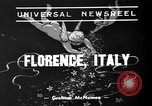 Image of marriage ceremony Florence Italy, 1939, second 2 stock footage video 65675047776
