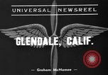 Image of United States pilots Glendale California USA, 1939, second 2 stock footage video 65675047778