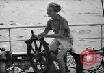 Image of 80 feet steel ketch sail boat New York City USA, 1939, second 4 stock footage video 65675047779