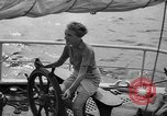 Image of 80 feet steel ketch sail boat New York City USA, 1939, second 5 stock footage video 65675047779