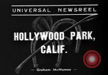 Image of Hollywood Derby Inglewood California USA, 1939, second 7 stock footage video 65675047781