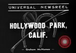 Image of Hollywood Derby Inglewood California USA, 1939, second 8 stock footage video 65675047781