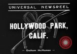 Image of Hollywood Derby Inglewood California USA, 1939, second 9 stock footage video 65675047781