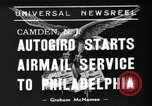 Image of autogiro Camden New Jersey USA, 1939, second 1 stock footage video 65675047783