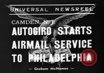 Image of autogiro Camden New Jersey USA, 1939, second 4 stock footage video 65675047783