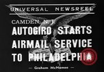Image of autogiro Camden New Jersey USA, 1939, second 5 stock footage video 65675047783