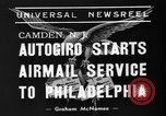Image of autogiro Camden New Jersey USA, 1939, second 6 stock footage video 65675047783