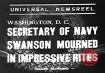 Image of funeral services Washington DC USA, 1939, second 2 stock footage video 65675047784