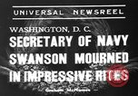 Image of funeral services Washington DC USA, 1939, second 3 stock footage video 65675047784