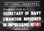 Image of funeral services Washington DC USA, 1939, second 4 stock footage video 65675047784