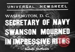 Image of funeral services Washington DC USA, 1939, second 5 stock footage video 65675047784