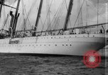 Image of South American naval training vessel San Juan Puerto Rico, 1938, second 9 stock footage video 65675047786