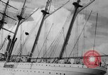 Image of South American naval training vessel San Juan Puerto Rico, 1938, second 11 stock footage video 65675047786