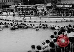 Image of bathing beauty parade Coney Island New York USA, 1938, second 6 stock footage video 65675047790
