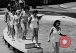 Image of bathing beauty parade Coney Island New York USA, 1938, second 8 stock footage video 65675047790