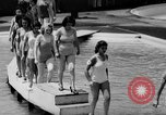 Image of bathing beauty parade Coney Island New York USA, 1938, second 9 stock footage video 65675047790