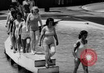 Image of bathing beauty parade Coney Island New York USA, 1938, second 10 stock footage video 65675047790