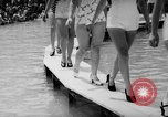 Image of bathing beauty parade Coney Island New York USA, 1938, second 11 stock footage video 65675047790