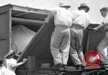 Image of turtle-shaped race car Wendover Utah USA, 1938, second 7 stock footage video 65675047791