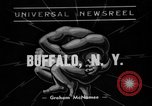 Image of wrestling match Buffalo New York USA, 1938, second 1 stock footage video 65675047792