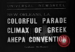 Image of Convention New Orleans Louisiana USA, 1938, second 1 stock footage video 65675047799