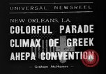 Image of Convention New Orleans Louisiana USA, 1938, second 6 stock footage video 65675047799