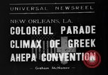 Image of Convention New Orleans Louisiana USA, 1938, second 7 stock footage video 65675047799