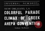 Image of Convention New Orleans Louisiana USA, 1938, second 8 stock footage video 65675047799