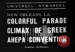 Image of Convention New Orleans Louisiana USA, 1938, second 10 stock footage video 65675047799