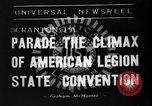 Image of American Legion State Convention Scranton Pennsylvania USA, 1938, second 1 stock footage video 65675047800