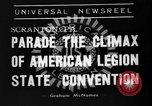 Image of American Legion State Convention Scranton Pennsylvania USA, 1938, second 5 stock footage video 65675047800