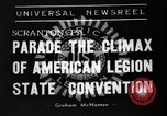Image of American Legion State Convention Scranton Pennsylvania USA, 1938, second 7 stock footage video 65675047800