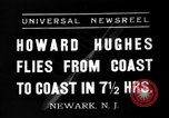 Image of Howard Hughes Newark New Jersey USA, 1937, second 1 stock footage video 65675047801