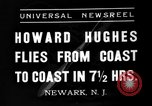 Image of Howard Hughes Newark New Jersey USA, 1937, second 2 stock footage video 65675047801