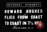 Image of Howard Hughes Newark New Jersey USA, 1937, second 9 stock footage video 65675047801