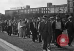 Image of picketing during a textile strike United States USA, 1936, second 9 stock footage video 65675047807