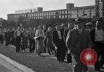 Image of picketing during a textile strike United States USA, 1936, second 11 stock footage video 65675047807
