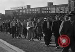Image of picketing during a textile strike United States USA, 1936, second 12 stock footage video 65675047807