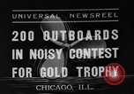 Image of motorboat race Chicago Illinois USA, 1935, second 1 stock footage video 65675047823