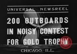 Image of motorboat race Chicago Illinois USA, 1935, second 4 stock footage video 65675047823
