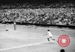 Image of Tennis champion Donald Budge defeats Bunny Austin at Wimbleton Wimbledon London England, 1938, second 7 stock footage video 65675047828