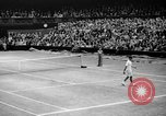 Image of Tennis champion Donald Budge defeats Bunny Austin at Wimbleton Wimbledon London England, 1938, second 12 stock footage video 65675047828