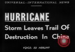 Image of hurricane causes damages Cienfuegos Cuba, 1952, second 1 stock footage video 65675047830