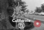 Image of floral headpieces California United States USA, 1952, second 2 stock footage video 65675047833